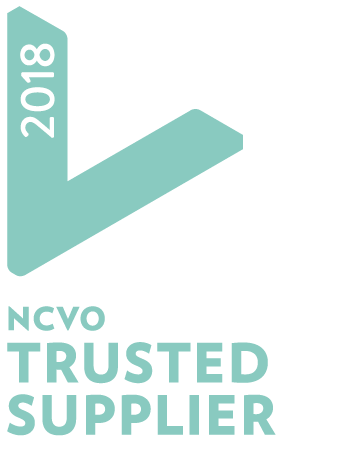 NCVO Trusted Supplier logo