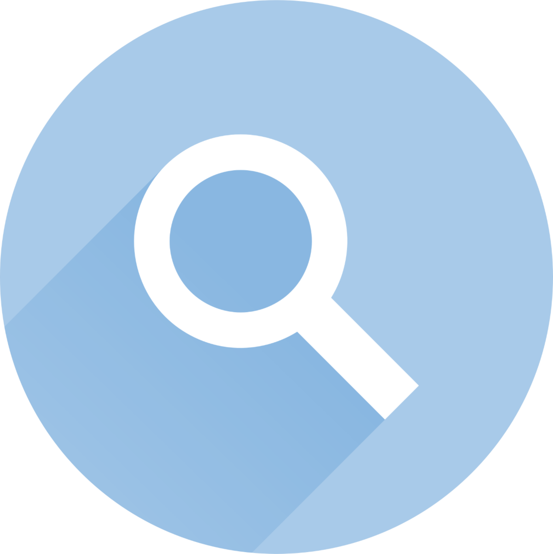 Branded Icon Magnifying Glass Search
