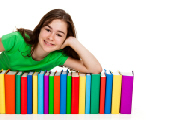 girl books small